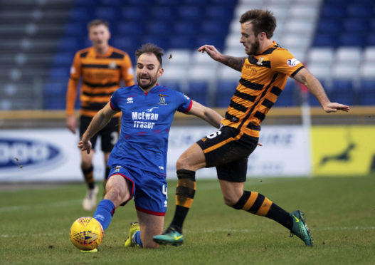 Caley Thistle midfielder Sean Welsh.