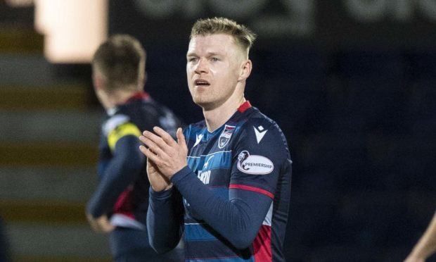 Billy Mckay grabbed a late equaliser.