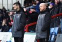 Ross County managerial duo Stuart Kettlewell and Steven Ferguson.