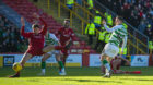 Callum McGregor makes it 1-0 to Celtic.