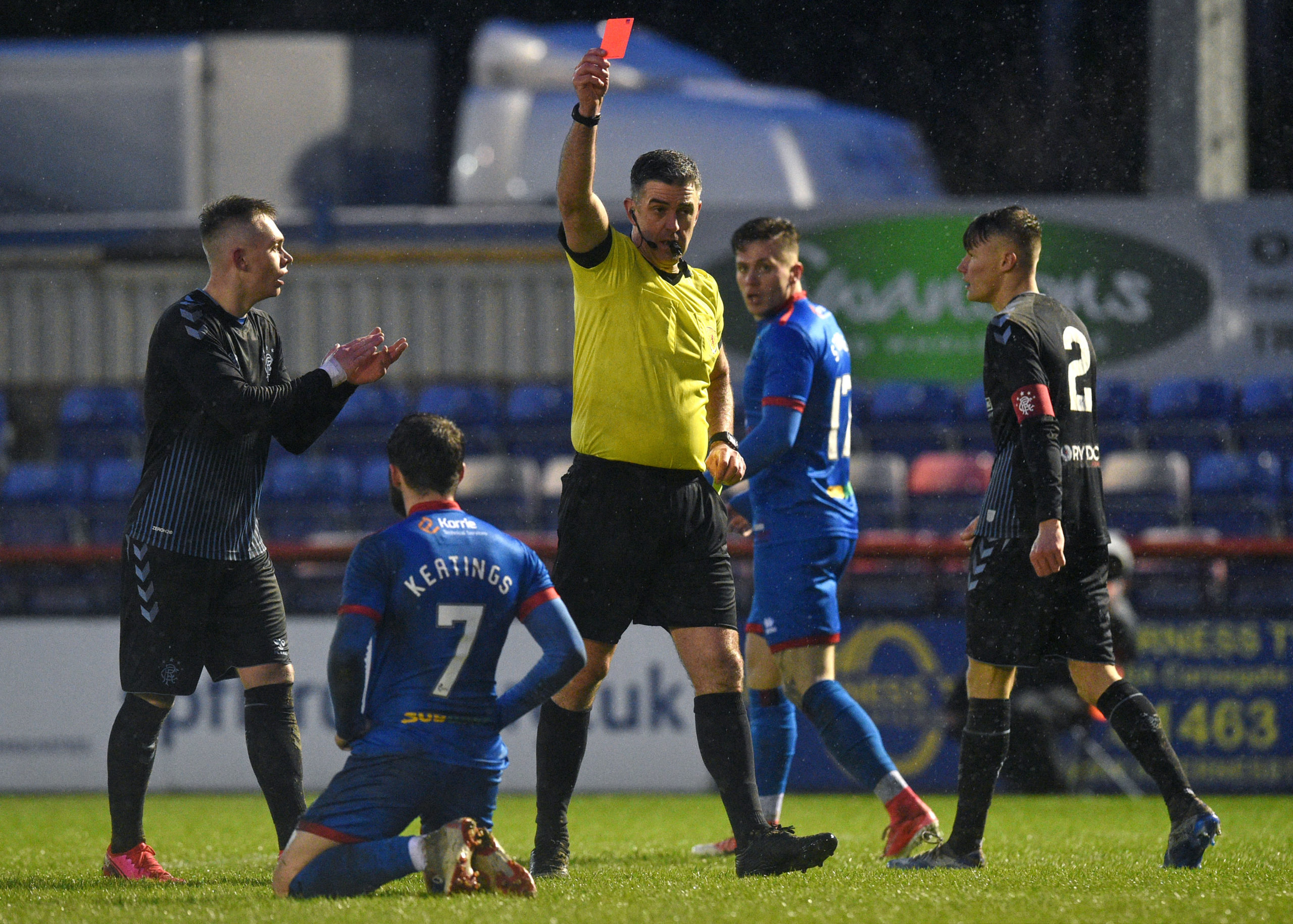 Caley Thistle had fought to have James Keatings' ban overturned to play in the final.