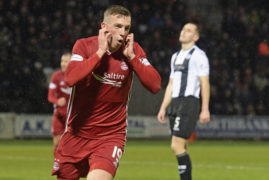 Aberdeen midfielder Lewis Ferguson tops Steven Gerrard's wishlist