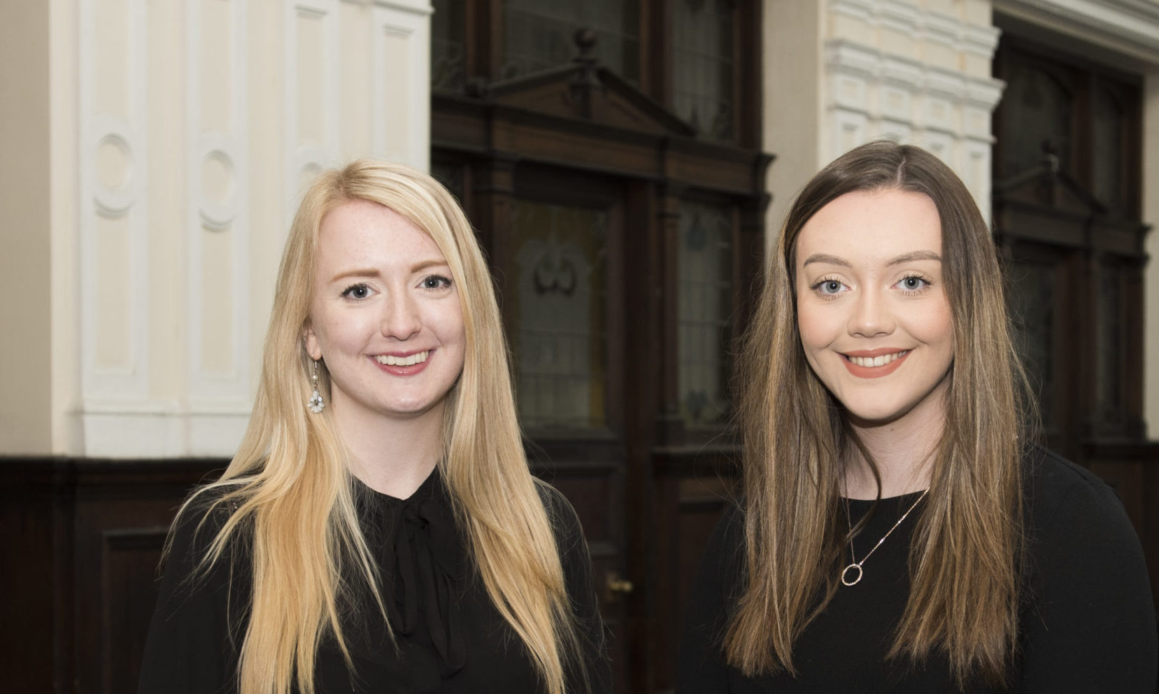 Sarah Baxter and Aimee Stephen from DYW Moray.