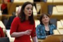 Kate Forbes outlines details of  the Scottish Government Budget for 2020/21 to the Scottish Parliament after the Cabinet Secretary for Finance, Economy and Fair Work, Derek Mackay MSP resigned.