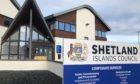 Shetland Islands Council HQ.