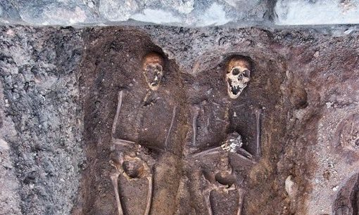 REVEALED: Fresh images of seven medieval skeletons in Aberdeen | Press and Journal