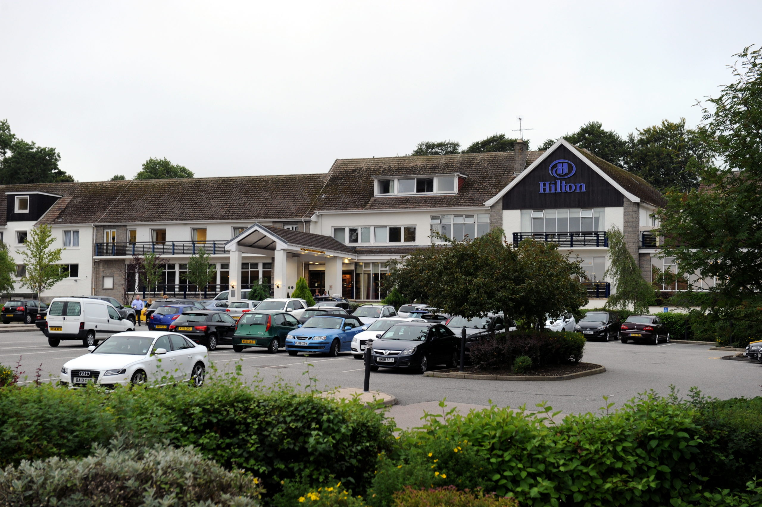 The Treetops Hotel on Springfield Road prior to its closure.