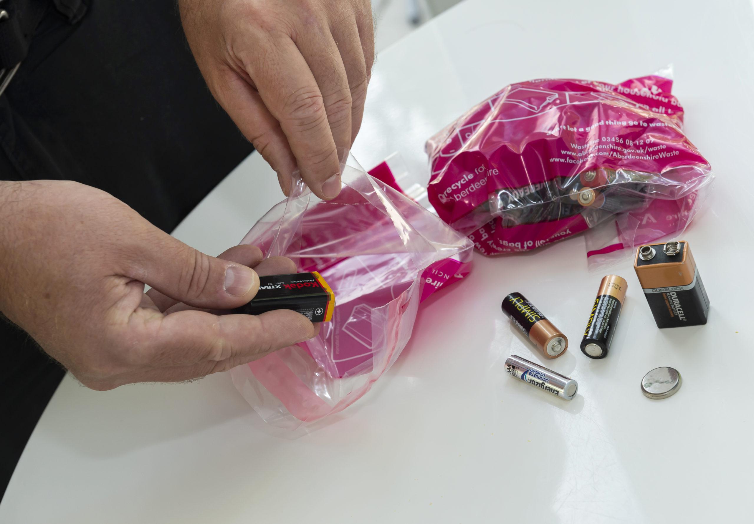 Generic photograph of batteries