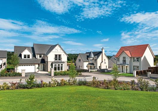 Blairs development on Royal Deeside