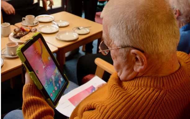 Tenants will learn how to use modern technology such as digital tablets