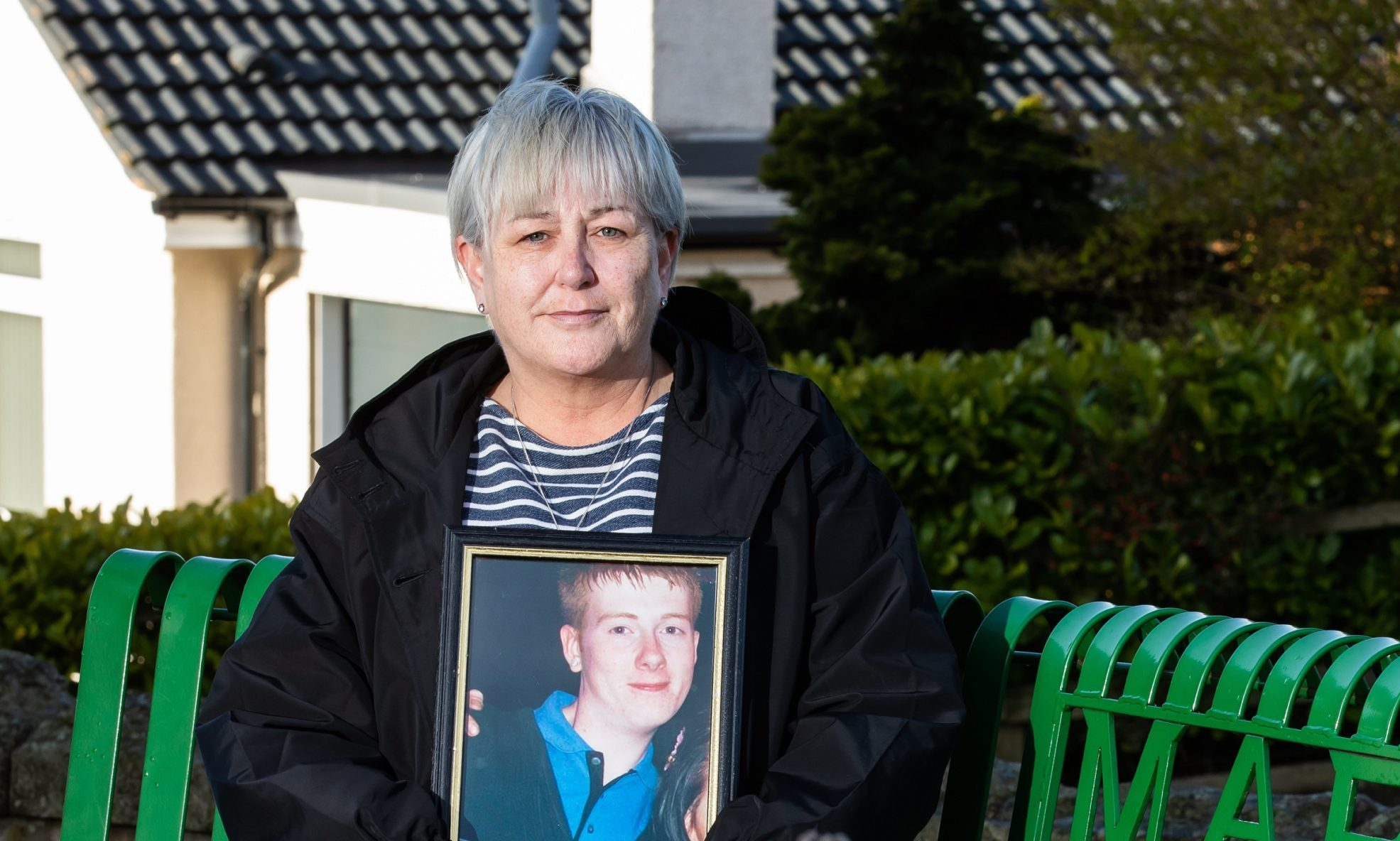 Dorothy-Anne Scott from Torphins who lost her son Mark in a car crash.