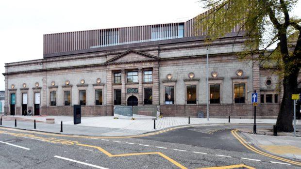 Aberdeen Art Gallery. Picture by Jim Irvine