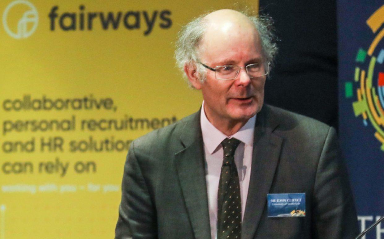 Professor Sir John Curtice.