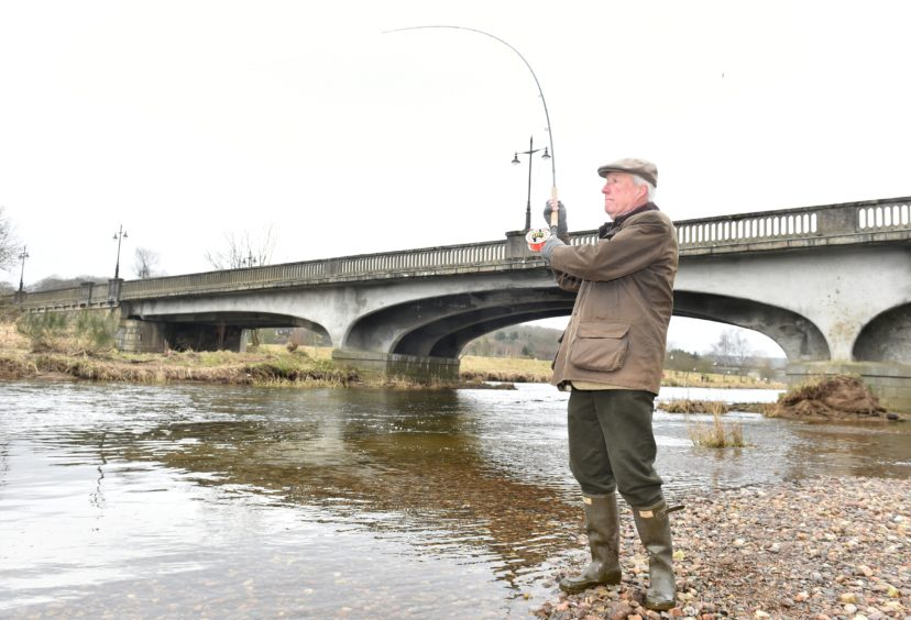 VIDEO: Salmon fishing season launched on River Don   Press and Journal