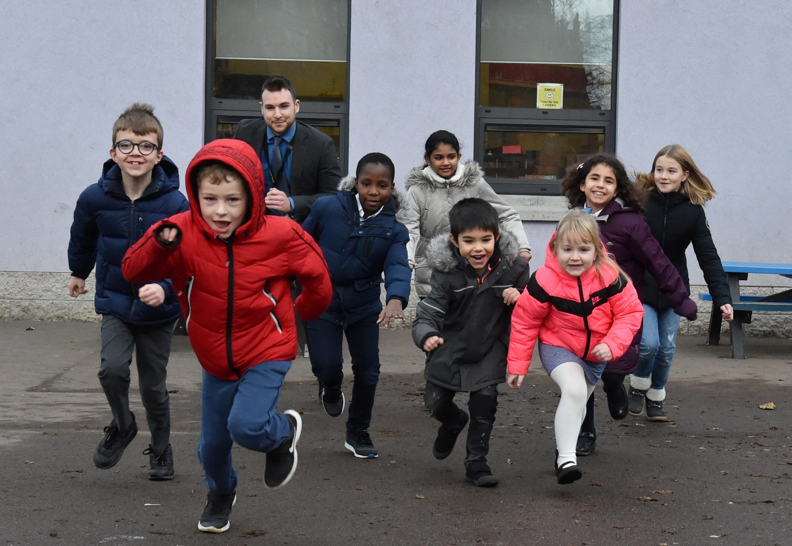 Hanover Street School is one of the most multicultural schools in Aberdeen, with over half of pupils coming from a home where no English is spoken.  Picture by Colin Rennie.
