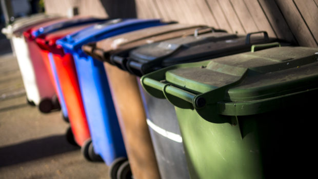 Generic photograph of bins.