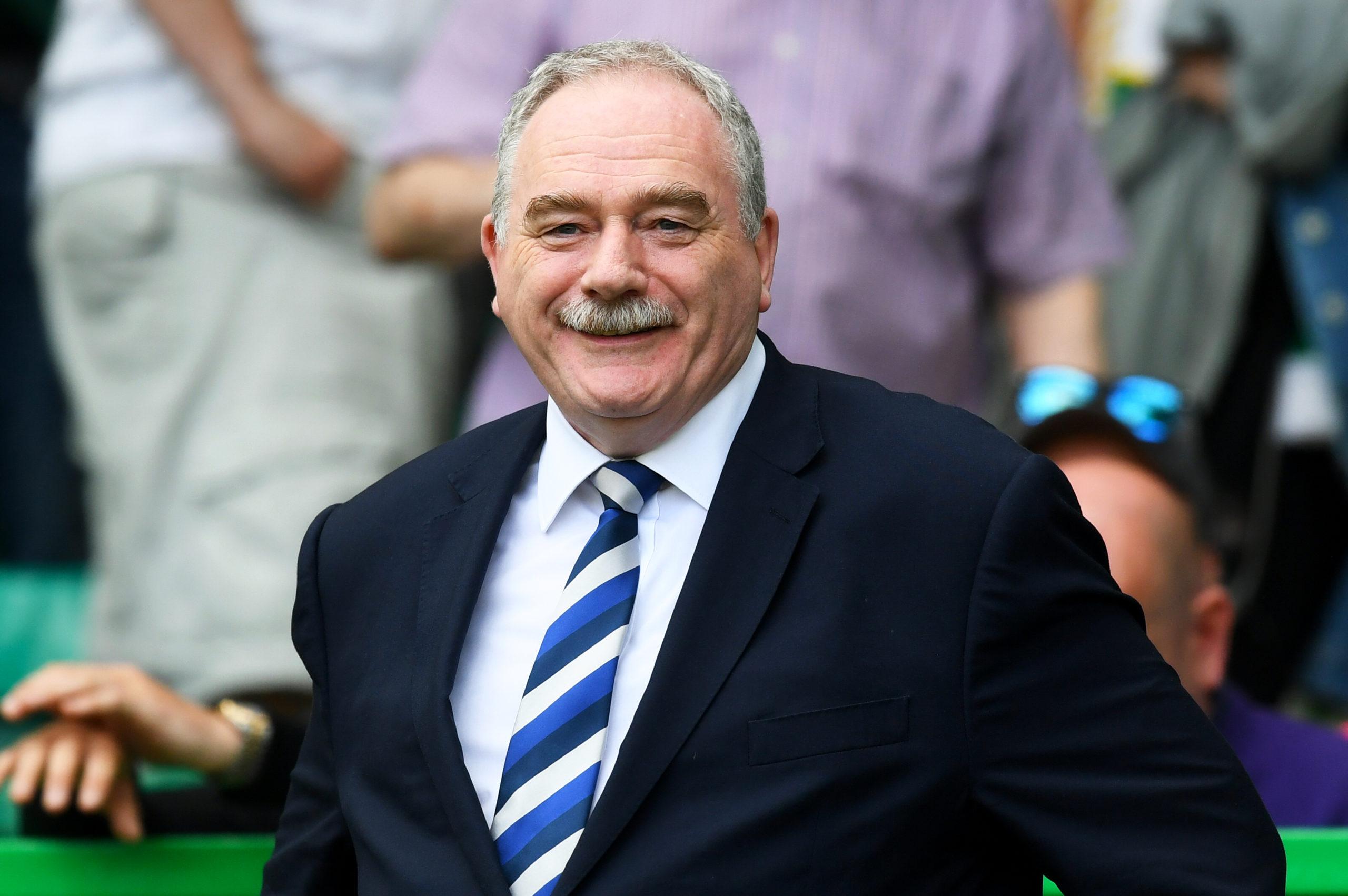 Scottish FA president Rod Petrie