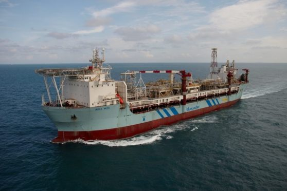 The Aoka Mizu FPSO serves Hurricane Energy's Lancaster field