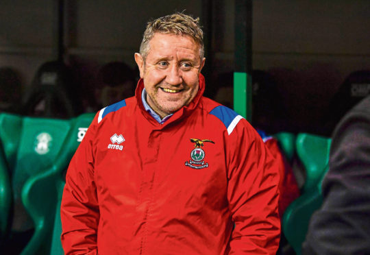 Caley Thistle manager John Robertson