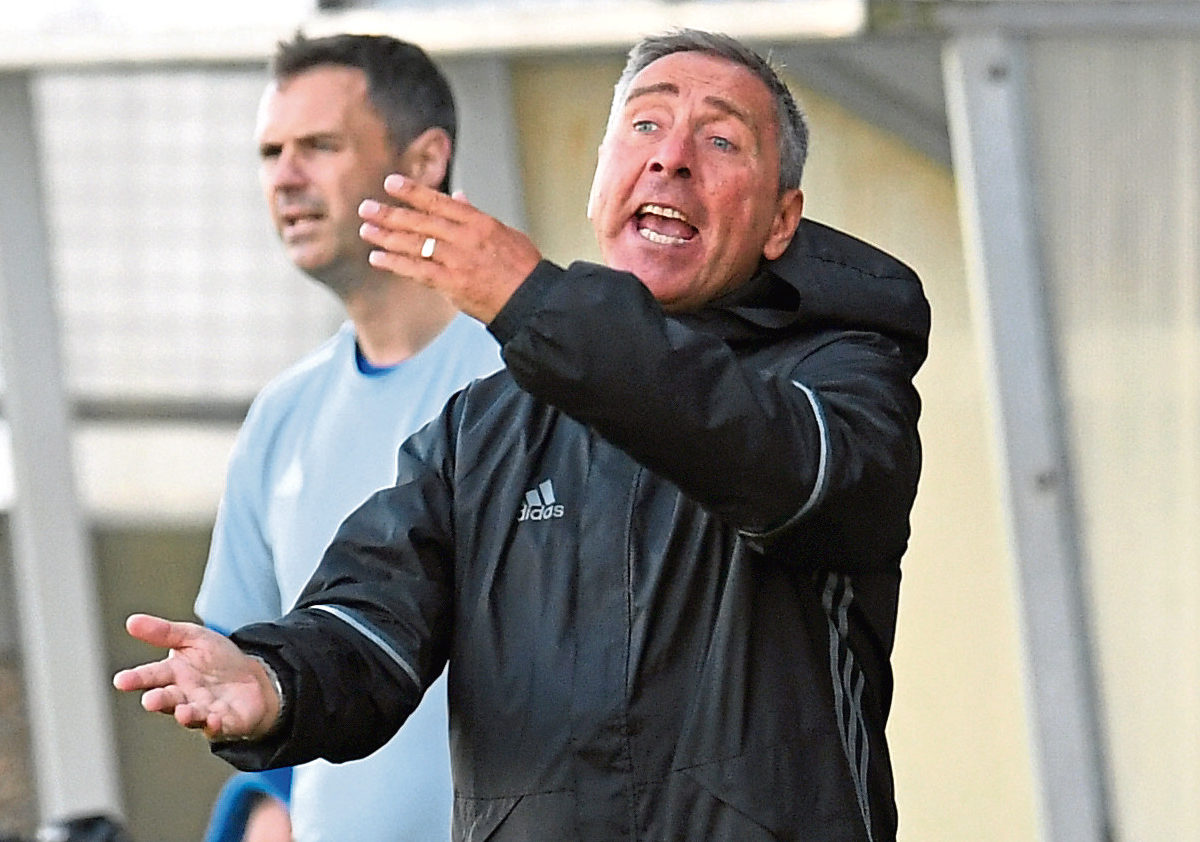 Peterhead manager Jim McInally is hopeful his side can get their first league points today