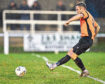 Rothes' Gregg Main shoots.