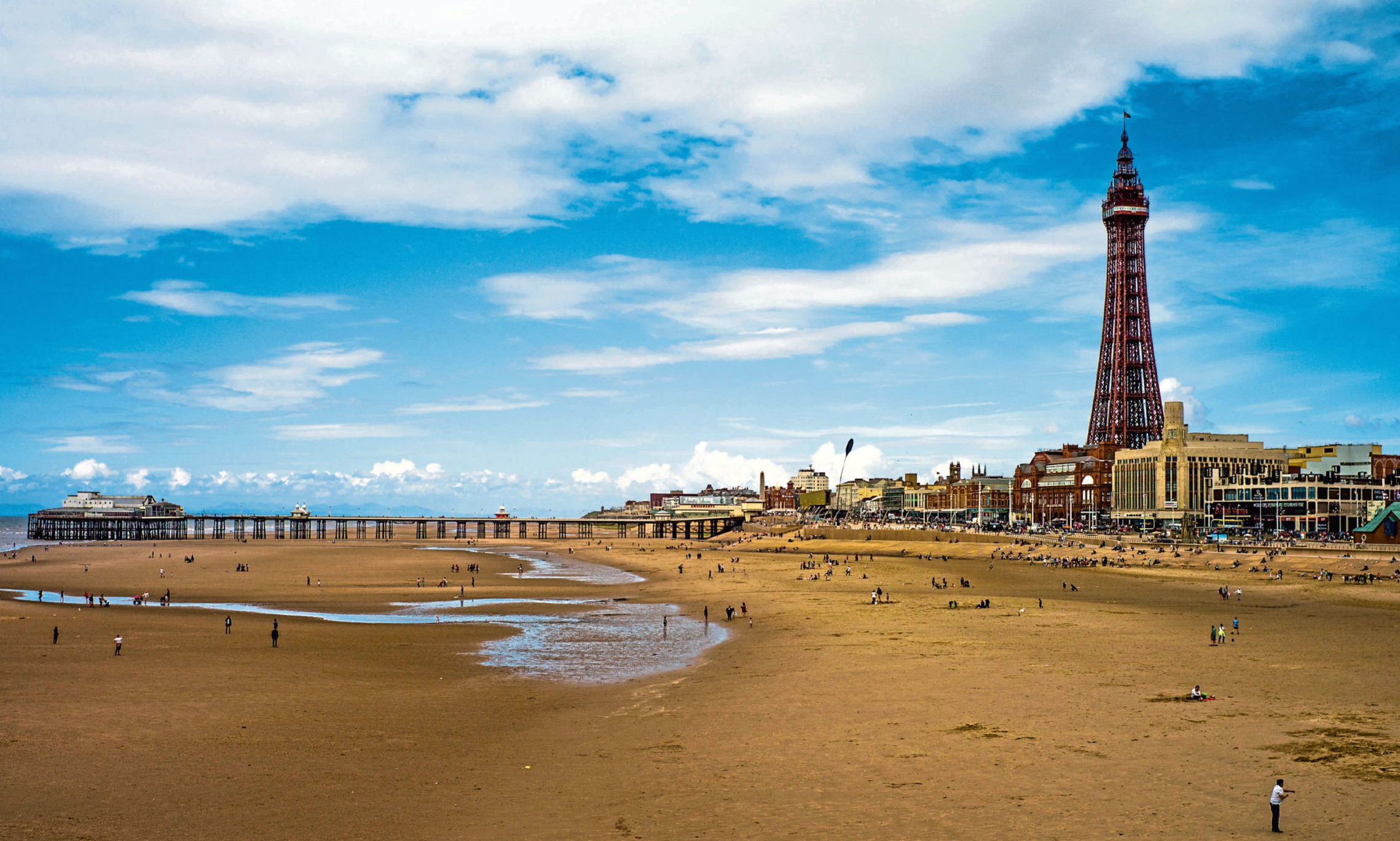 Blackpool is a popular destination for Scots.