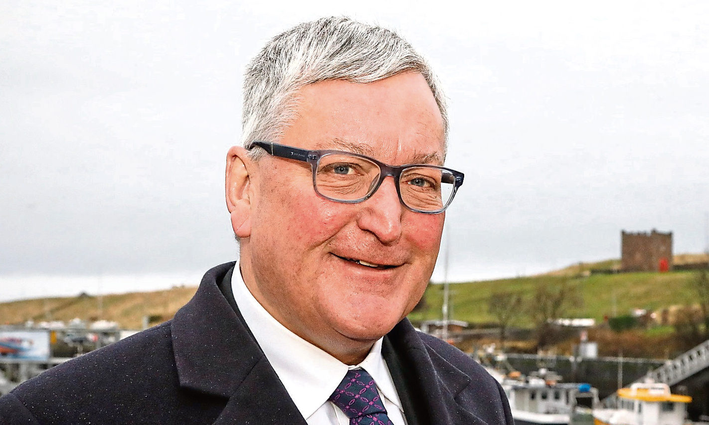 Scottish Fisheries Secretary Fergus Ewing