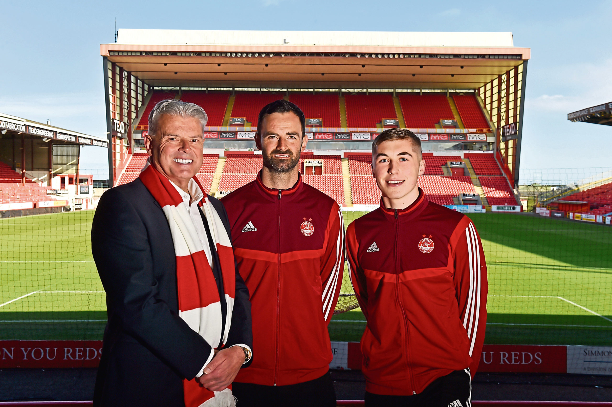 Aberdeen FC has launched a mass outreach programme.  Picture by Kenny Elrick     11/03/2020