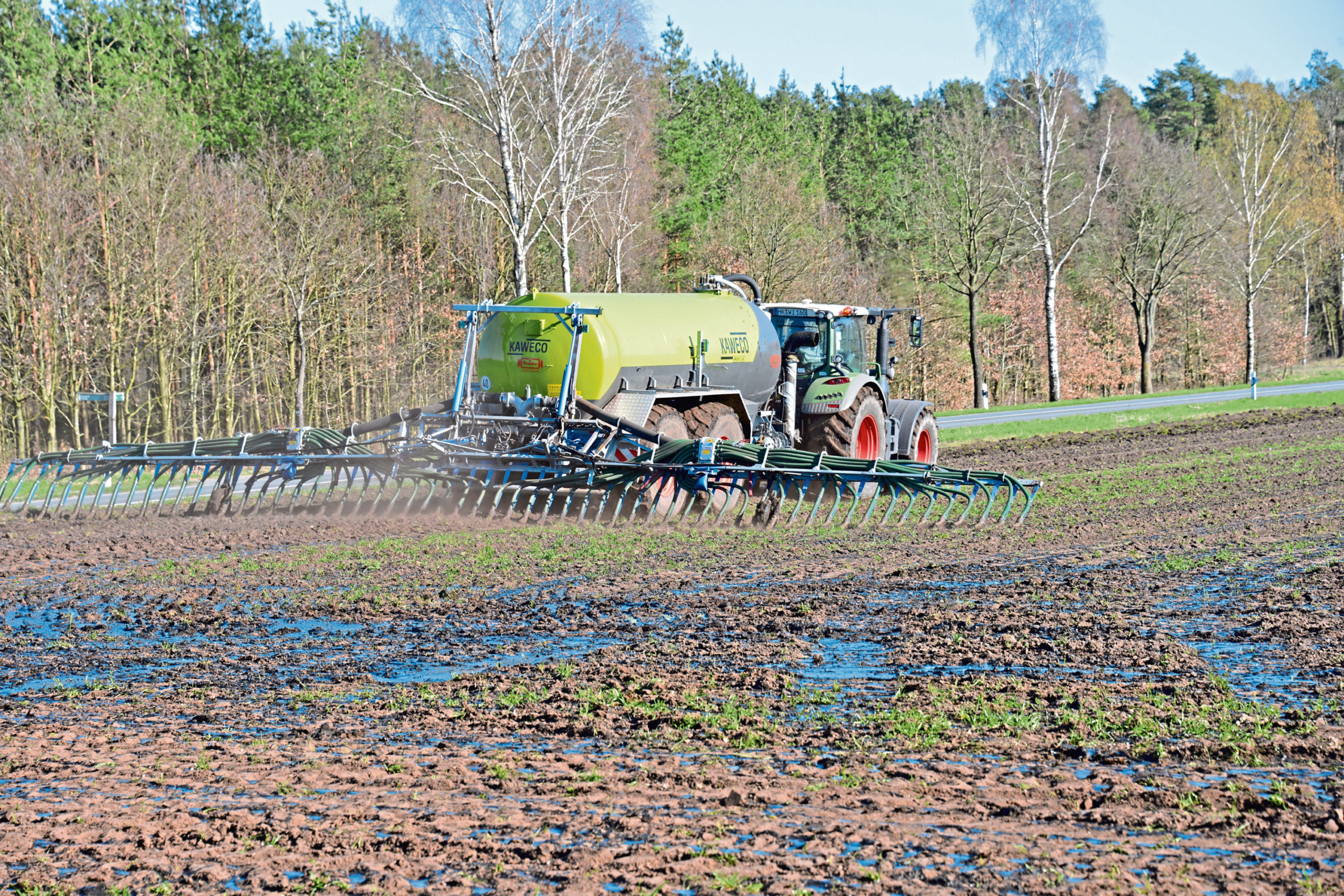 The distilling industry is worried some Scottish farmers might end up making their land unsuitable for growing malted barley.