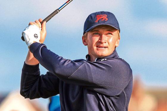 Nairn amateur golfer Sandy Scott