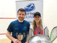 2020 Sterling Trucks Scottish National Championship. Winners Alan Clyne (men's event) and Lisa Aitken (women's event).