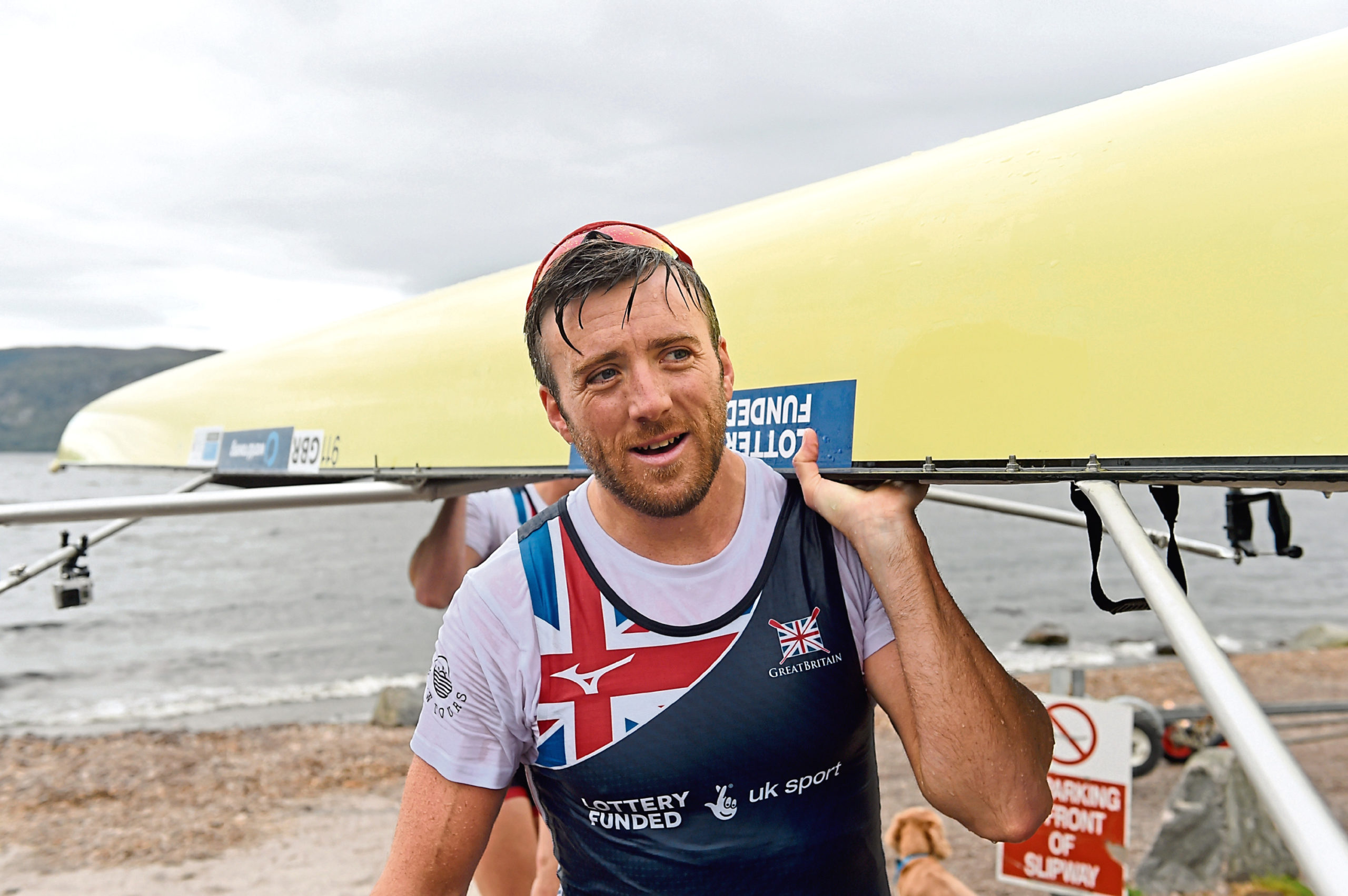 GB rower Alan Sinclair.