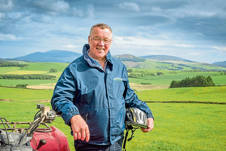 NFU Scotland president Andrew McCornick.