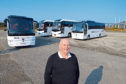 Donald Mathieson, owner of D & E Coaches Donald Matheson, D&E Coaches.