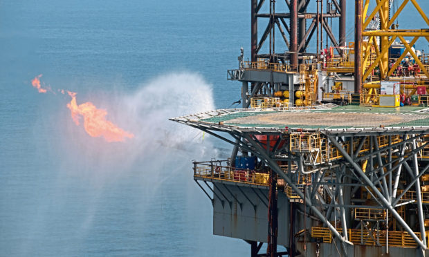 Flaring the Gas Discovery at Platypus