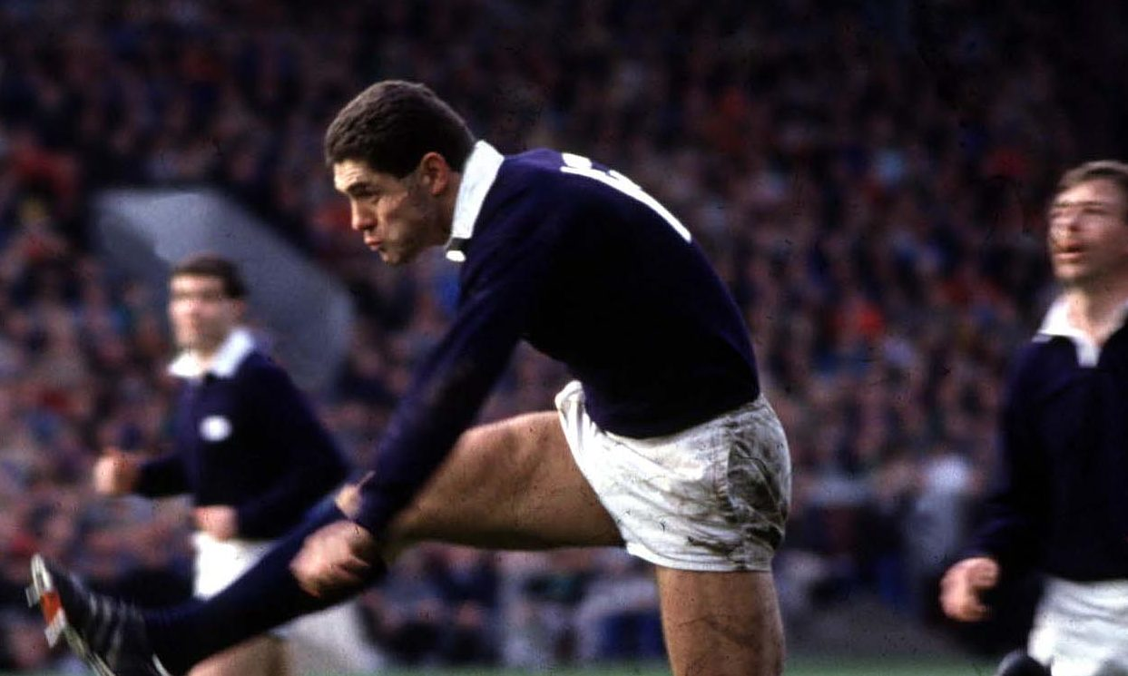 Gavin Hastings was a warrior for Scotland.