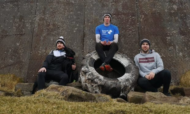 Cameron Hook completed the challenge in under four hours, ably assisted by teammates Chris Ross and John Mackay