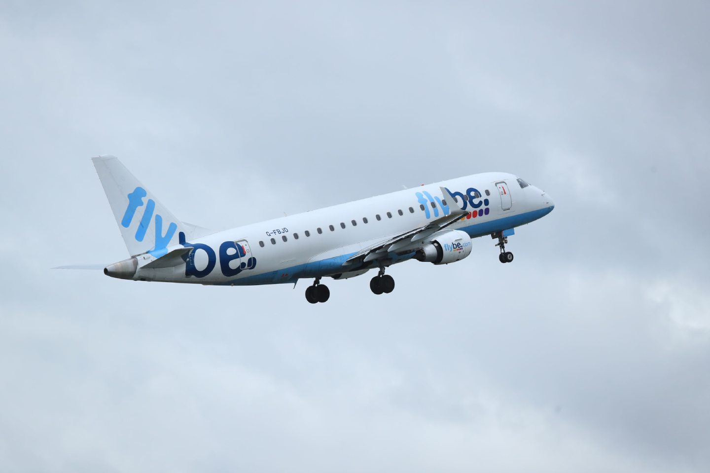 File photo dated 13/01/20 of a Flybe flight departing from Manchester Airport as the struggling airline is on the brink of collapse. PA Photo. Picture date: Thursday March 5, 2020. See PA story AIR FlyBe. Photo credit should read: Peter Byrne/PA Wire