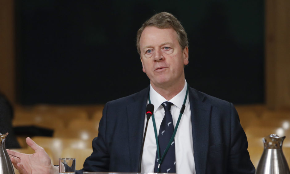 Alister Jack appears before the Culture, Tourism, Europe and External Affairs Committee.
