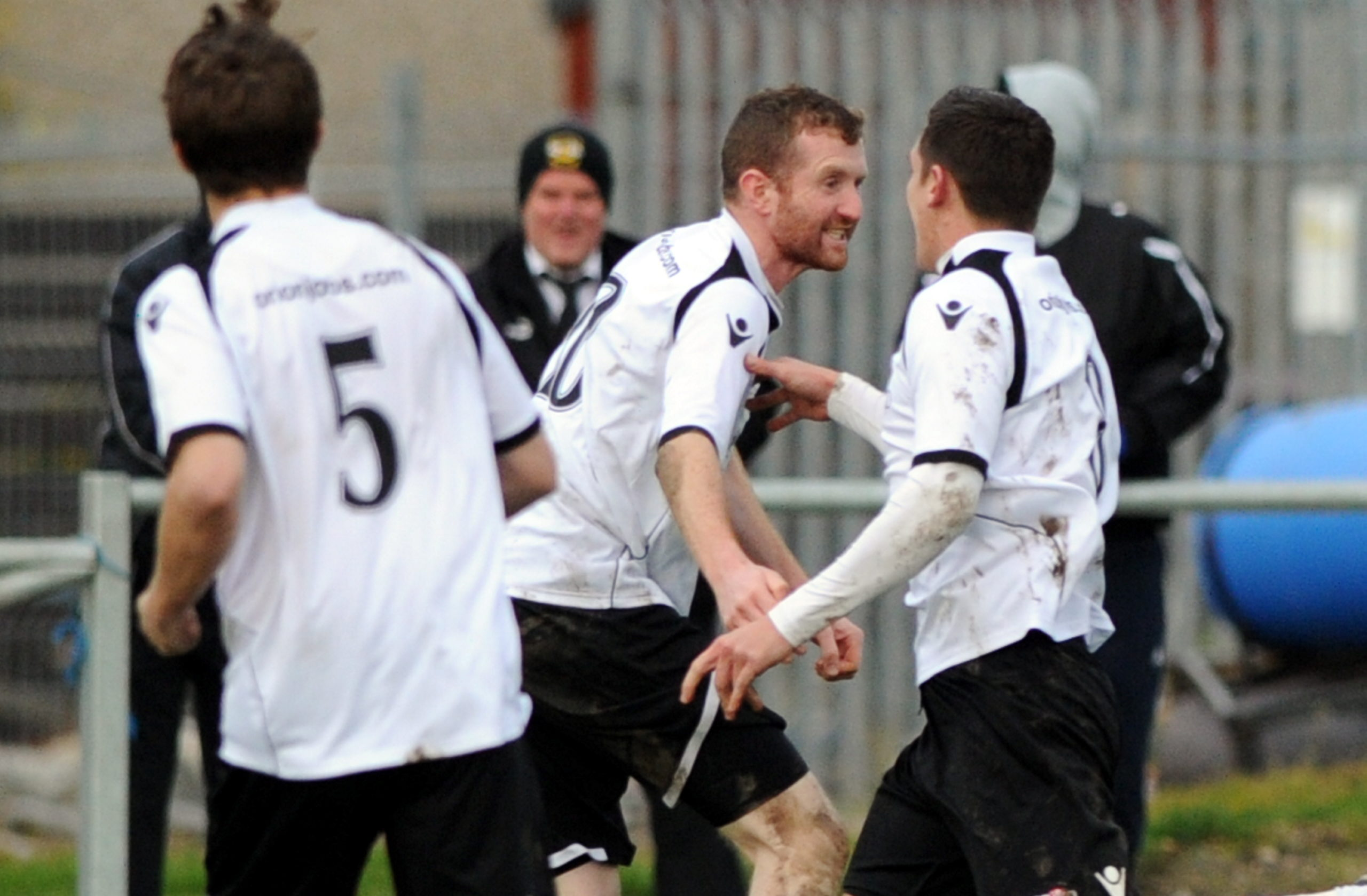 Scott Graham in action during his first spell at Clach.