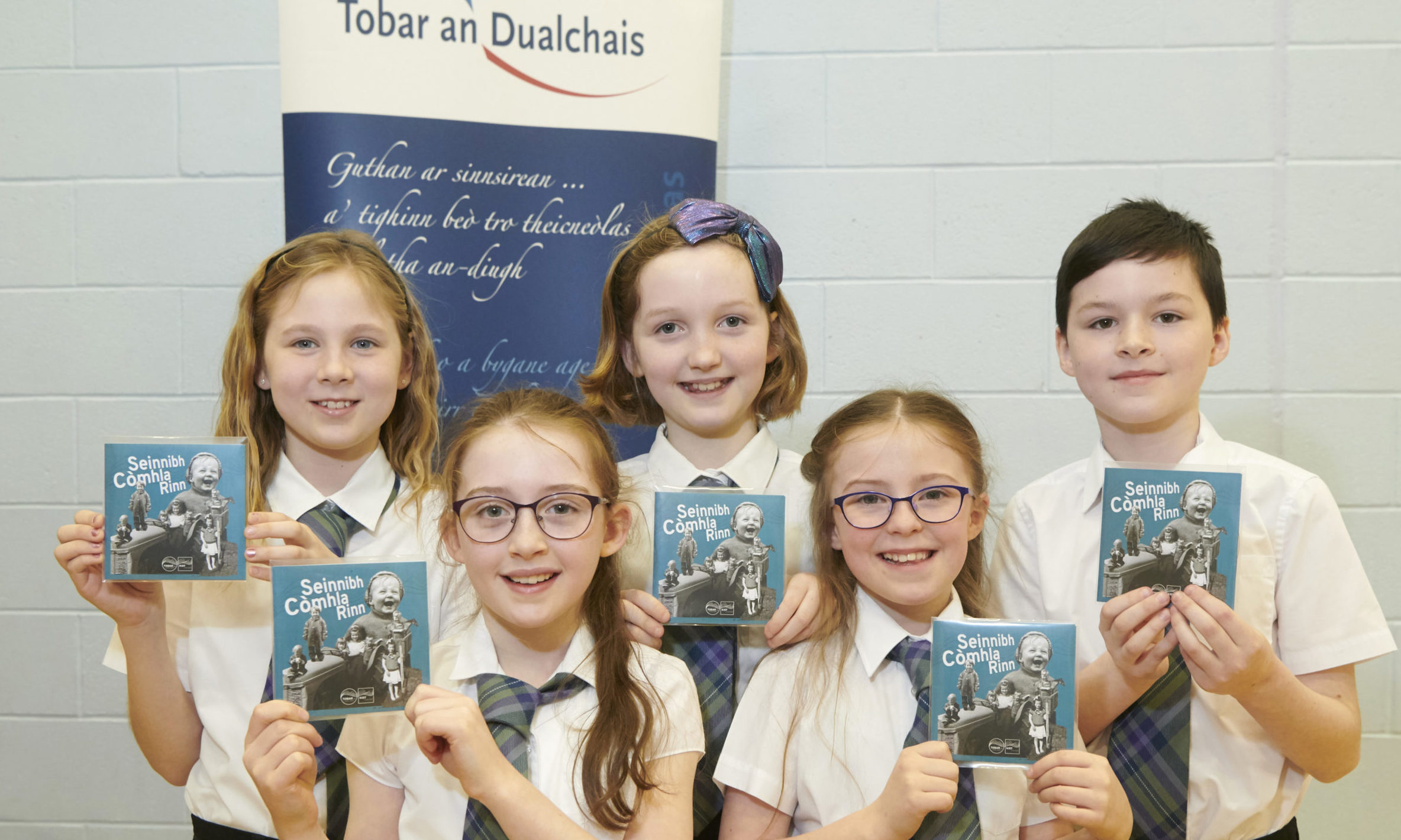 Gaelic CD launch, Inverness. Còisir na h-Òige BSGI (the Inverness Gaelic Primary School choir)