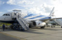 Photo by Shutterstock (990988b) A Bangkok Airways plane on the airport runway on Koh Samui, Thailand. Koh Samui Airport, Thailand - 04 Aug 2009 Today an aircraft crashed on landing from Krabi