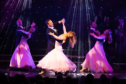 Brendan Cole dazzled the audience at Aberdeen's Music Hall.
