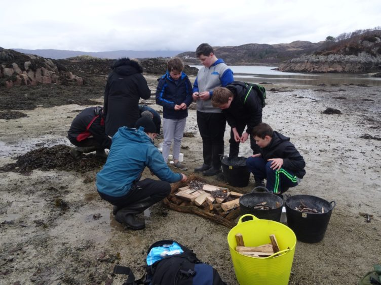 A community initiative at Plock of Kyle