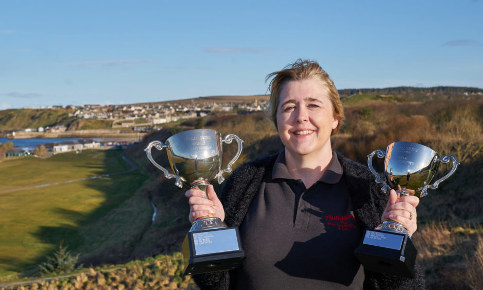 Margaret a soup - er star : History made at Cullen Skink championships