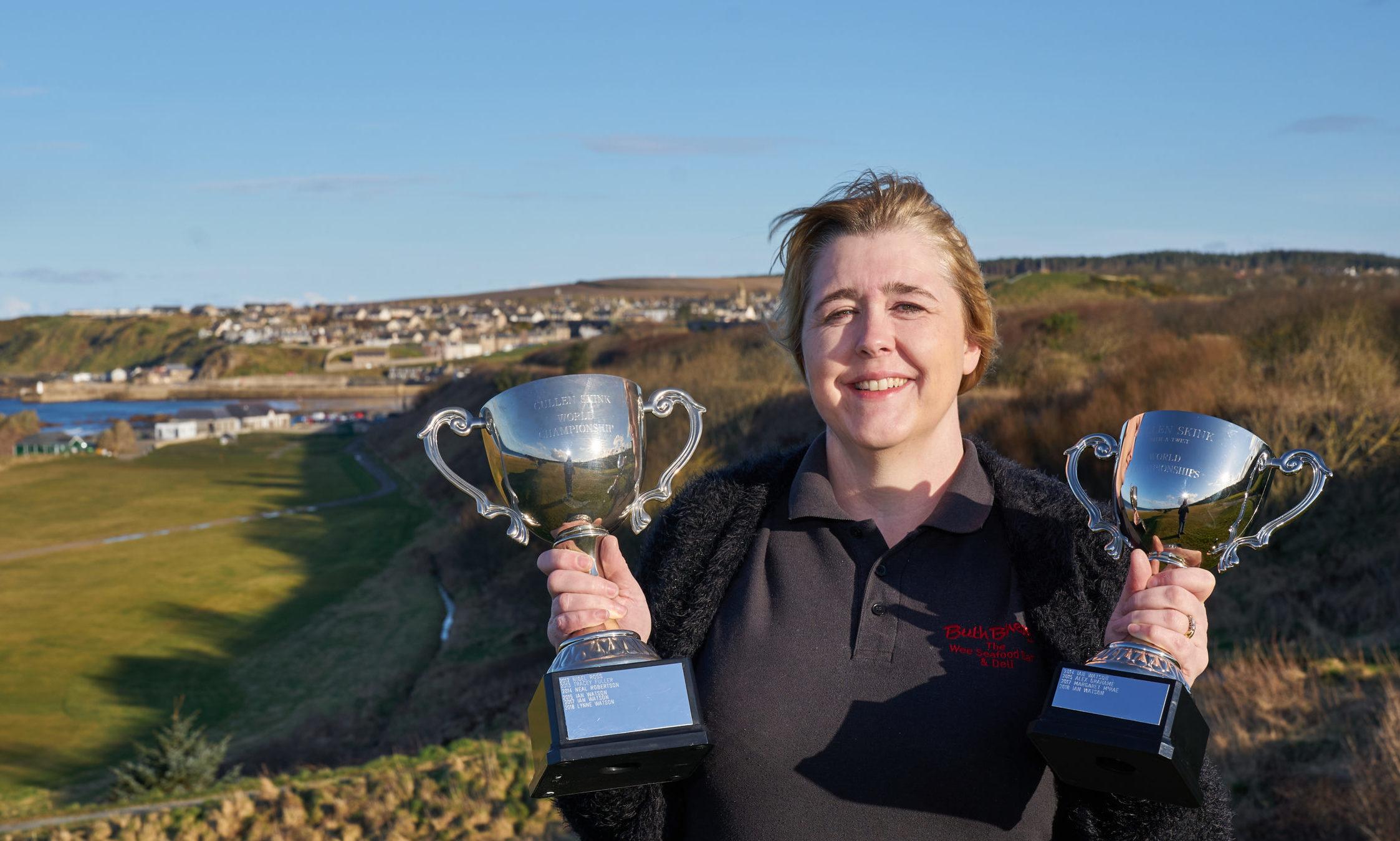 Winner Margaret Macrae from Kyle of Lochalsh