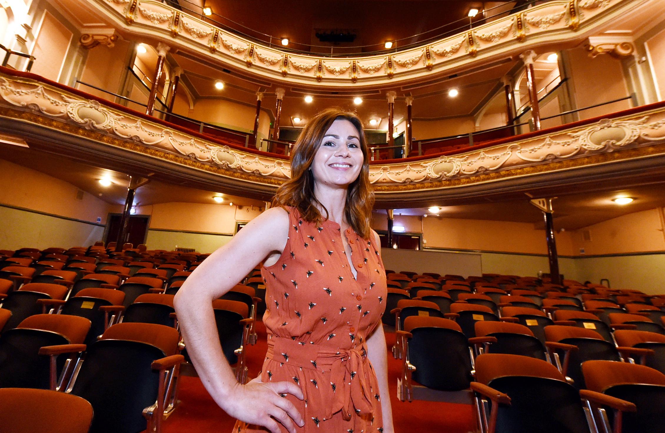 Christina Camillo from the Tivoli Theatre