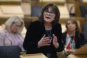 Jeane Freeman makes a ministerial statement to parliament on coronavirus.