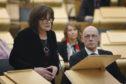 Jeane Freeman updating parliament on coronavirus on March 3 2020.