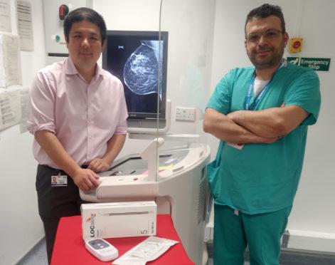 Dr Gerald Lip and Mr Yazan Masannat
